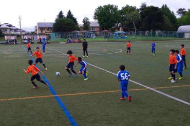 U-13 サッカーリーグプレシーズンマッチ2020年7月4日