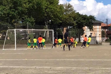 U-13サッカーリーグ2020(2020年8月29日)@塩尻中央スポーツ公園サッカー場