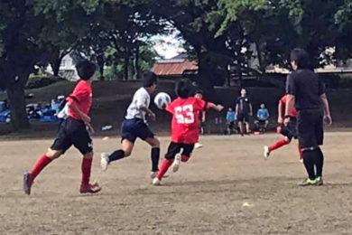 U-13サッカーリーグ2020 第3節(2020年9月6日)@塩尻中央スポーツ公園運動公園