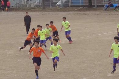練習試合(2020年10月3日) Adii vs トップストーンA @宮田村中央グランド