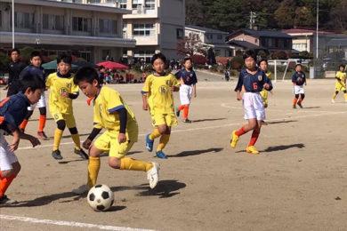 4年生リーグ戦 U-10 vs アザリー・vs 飯田FC・vs 豊丘 @高森小学校 (2020年11月1日)