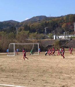 練習試合 U-14 U-13 vs FC ASA FUTURO @川路多目的グランドA (2020年11月8日)