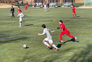 練習試合 U-14 U-13 vs アンテロープ塩尻 @塩尻中央スポーツ公園 (2020年12月27日)
