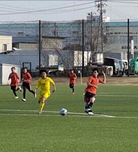 練習試合 U-13 vsアンテロープ塩尻 vsASA @FBC (2021年2月20日)