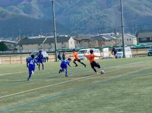 練習試合 U-14 vsフォルツァ松本 @かりがねサッカー場 (2021年2月23日)