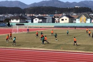 練習試合 U-14 U-13 vs 松本山雅上伊那 @松尾総合グラウンド (2021年2月27日)
