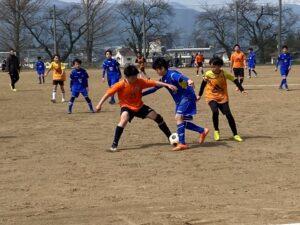 練習試合 U13+新団員 vsアンテロープ vsフォルツァ @塩尻中学校 (2021年3月20日)
