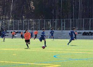 練習試合 U-13 U-14 vs C.F.バロ @筑北村グラウンド (2021年3月7日)