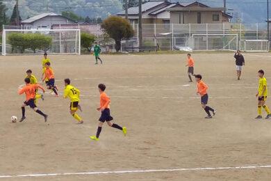 練習試合 U-15 vs ZONE @宮田中央グラウンド (2021年4月25日)