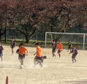 U-15南信2部リーグ戦 第1節 vs 飯田西中 @旭ヶ丘中学校 (2021年4月10日)