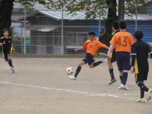 練習試合B戦 U-13 vs ZONE @宮田中央グラウンド (2021年4月25日)
