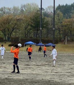 U-15南信2部リーグ戦 第2節 vs 旭ヶ丘中 @豊丘村民グラウンド (2021年4月17日)