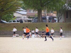 U-15南信2部リーグ戦フレンドリーマッチ vs松川中 vs喬木中 @喬木中 (2021年4月24日)