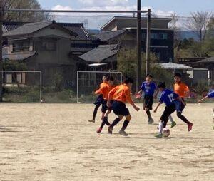 練習試合 U-13 vs ジーベック @中津川市北部グランド (2021年4月11日)