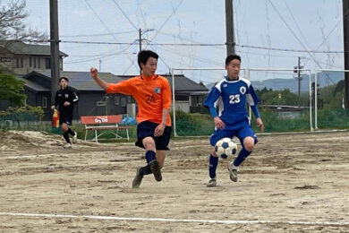 トレーニングマッチ U-14 vs FCジーベック @中津川 (2021年5月1日)
