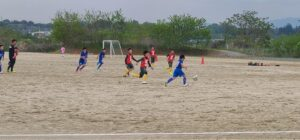 トレーニングマッチ 5年生 vsアザリー5A vsESAT6年 vsフィエット12 vsフィエット15 @川路Bグラウンド (2021年5月1日)