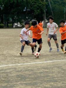 トレーニングマッチ U-14 vs ラウーレ @塩尻市中央スポーツ公園広場 2021年6月26日(土)