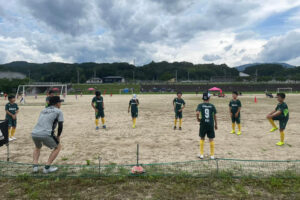トレーニングマッチ U-11 vsトップ宮田 vs飯田 vsアザリーA vs喬木B @川路グラウンドB 2021年7月10日(土)
