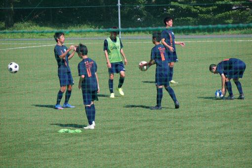 トレーニングマッチ U-15 vs 東海大諏訪高校 2021年7月25日(日)