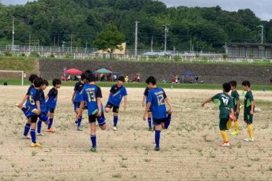 伊那谷ダービーカップ U-12 vsESAT5年 vs箕輪6年 vs箕輪5年 @川路B 2021年7月31日(土)