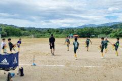 トレーニングマッチ U-11 vsTOP伊那 vs竜東 vsTOP宮田 @川路グラウンドA 2021年8月8日(日)