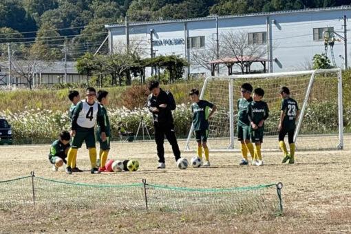 トレーニングマッチ U-11 vsナイツ vs南木曽 vs東御B vsESAT @川路Bグラウンド 2021年10月23日(土)