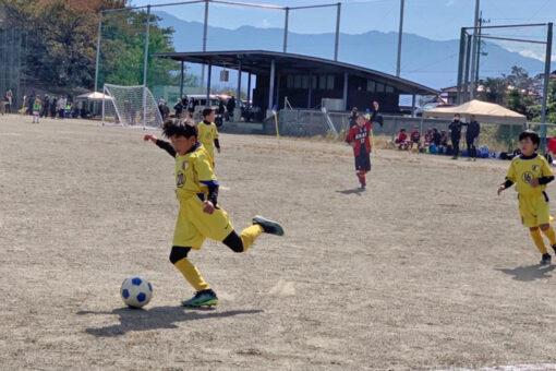 飯伊少年サッカー大会 U-10 vsESAT A vs飯田 vs高森 2021年10月24日(日)
